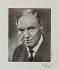 Autographs:Celebrities, Clarence Darrow Inscribed Photograph Signed....