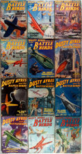 "Books:Pulps, Group of Twelve Issues of Dusty Ayres and His Battle Birds.Popular Publications, 1934-1935. 7"" x 9.5"". Original wra... (Total:12 Items)"
