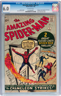 Silver Age (1956-1969):Superhero, The Amazing Spider-Man #1 (Marvel, 1963) CGC FN 6.0 Off-whitepages....
