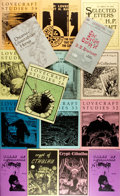Books:Horror & Supernatural, Group of Sixteen Items Related to H.P. Lovecraft. Includes 'zines, and other small publications. Primarily 1980s and 1990s. ... (Total: 16 Items)