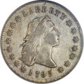 Early Dollars, 1795 $1 Flowing Hair, Three Leaves VF20 PCGS. B-6, BB-25, R.3....