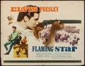 "Movie Posters:Elvis Presley, Flaming Star (20th Century Fox, 1960). Half Sheet (22"" X 28"").Elvis Presley.. ..."
