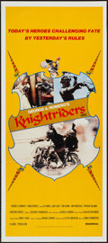 """Movie Posters:Action, Knightriders (United Artists, 1981). Australian Daybill (13"""" X 29.75""""). Action.. ..."""