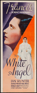 """Movie Posters:Drama, The White Angel (Warner Brothers, 1936). Trimmed Insert (14"""" X35.25""""). Drama.. ..."""