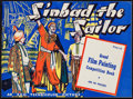 Movie Posters:Adventure, Sinbad the Sailor: Prize Competition Painting Book (Film ReelPublications, 1946). Scottish Soft Cover Book (Multiple Pages,...