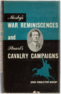 Books:Americana & American History, John Singleton Mosby. Mosby's War Reminiscences and Stuart'sCavalry Campaigns. New York: Pageant Book Company, 1958...