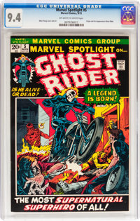 Marvel Spotlight #5 Ghost Rider (Marvel, 1972) CGC NM 9.4 Off-white to white pages