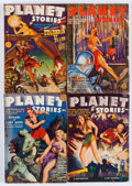 Pulps:Science Fiction, Planet Stories Group (Fiction House, 1939-45) Condition: AverageVG-.... (Total: 22 Items)