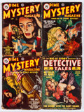 Pulps:Detective, Assorted Detective Pulps Group (Various Publishers, 1940s)Condition: VG.... (Total: 13 Comic Books)