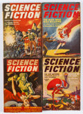 Pulps:Science Fiction, Science Fiction Group (Columbia, 1939-43) Condition: AverageVG-.... (Total: 8 Comic Books)
