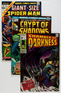 Bronze Age (1970-1979):Horror, Marvel Silver and Bronze Age Horror Comics Group (Marvel,1960s-70s) Condition: Average FN.... (Total: 98 Comic Books)