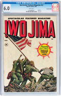 Golden Age (1938-1955):War, Spectacular Features Magazine #12 (#2) Iwo Jima - Canadian Edition(Superior/Fox, 1950) CGC FN 6.0 White pages....