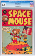 Golden Age (1938-1955):Funny Animal, Space Mouse #3 (Avon, 1953) CGC FR/GD 1.5 Off-white pages....