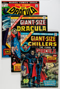Bronze Age (1970-1979):Horror, Tomb of Dracula Group (Marvel, 1973-79) Condition: Average FN....(Total: 54 Comic Books)