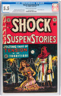 Golden Age (1938-1955):Horror, Shock SuspenStories #6 (EC, 1952) CGC FN- 5.5 Cream to off-whitepages....