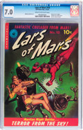 Golden Age (1938-1955):Science Fiction, Lars of Mars #10 (Ziff-Davis, 1951) CGC FN/VF 7.0 Cream tooff-white pages....