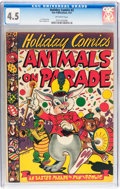 Golden Age (1938-1955):Funny Animal, Holiday Comics #2 (Star Publications, 1951) CGC VG+ 4.5 Off-whitepages....