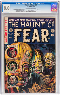Haunt of Fear #17 (EC, 1953) CGC VF 8.0 Off-white to white pages