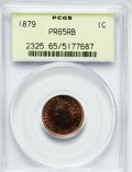 Proof Indian Cents: , 1879 1C PR65 Red and Brown PCGS. PCGS Population (84/41). NGC Census: (76/33). Mintage: 3,200. Numismedia Wsl. Price for pr...