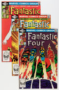 Modern Age (1980-Present):Superhero, Fantastic Four John Byrne Related Group (Marvel, 1981-84)Condition: Average NM.... (Total: 64 Comic Books)