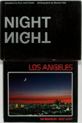Books:Photography, [Photography]. Two First Edition Books of Photography. Los Angeles contains an introduction by Ray Bradbury. Publisher's... (Total: 2 Items)