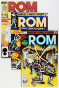 Modern Age (1980-Present):Superhero, Rom #2-75 Plus Group (Marvel, 1979-86) Condition: Average NM....(Total: 78 Comic Books)