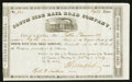 Confederate Notes:Group Lots, South Side Rail Road Company Stock Certificate 8 Shares July 24, 1862.. ...