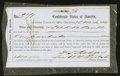 Confederate Notes:Group Lots, Interim Depositary Receipt Charleston, SC- $100 Mar. 18, 1864Tremmel SC-39A.. ...
