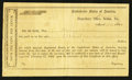 Confederate Notes:Group Lots, Interim Depositary Receipt Selma, AL- $100 Mar. 14, 1864 TremmelAL-157 Selma Type 1.. ...