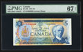 Canadian Currency: , BC-48b $5 1972 Serial Number Eight. ...