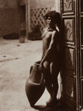 Photographs:20th Century, RUDOLF FRANZ LEHNERT (Austrian, 1878-1948) and ERNST HEINRICHLANDROCK (German, 1878-1966). Untitled (Nude in Doorway),...