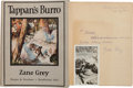 Books:Fiction, Zane Grey. Tappan's Burro and Other Stories. New York andLondon: Harper & Brothers, 1923....