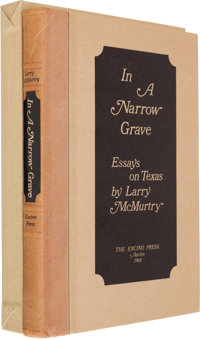 Larry McMurtry. In a Narrow Grave: Essays on Texas. Austin: The Encino Press, 1968