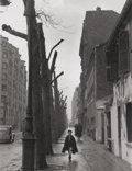 Photographs:20th Century, TODD WEBB (American, 1905-2000). Avenue Chatillon, Paris,1954. Gelatin silver. 9-1/4 x 7-1/8 inches (23.5 x 18.1 cm). S...