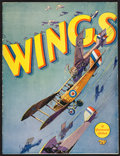 "Movie Posters:Academy Award Winners, Wings (Paramount, 1927). Program (20 Pages, 9"" X 12""22). AcademyAward Winners.. ..."