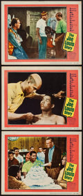 """Movie Posters:Sports, The Joe Louis Story (United Artists, 1953). Lobby Cards (3) (11"""" X 14""""). Sports.. ... (Total: 3 Items)"""