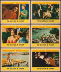 """Movie Posters:Hitchcock, To Catch a Thief (Paramount, 1955). Lobby Cards (6) (11"""" X 14""""). Hitchcock.. ... (Total: 6 Items)"""