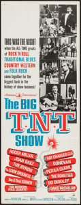 "Movie Posters:Rock and Roll, The Big T.N.T. Show (American International, 1966). Insert (14"" X 36""). Rock and Roll.. ..."