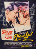 """Movie Posters:Romance, An Affair to Remember (20th Century Fox, 1957). French Grande (45.75"""" X 63""""). Romance.. ..."""