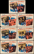 """Movie Posters:Musical, Hollywood Canteen (Warner Brothers, 1944). Lobby Cards (7) (11"""" X 14""""). Musical.. ... (Total: 7 Items)"""