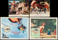 "Movie Posters:Science Fiction, Mysterious Island (Columbia, 1961). Title Lobby Card, Lobby Card(11"" X 14""), & Color Photos (2) (8"" X 10""). Science Fiction...(Total: 4 Items)"