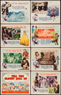 """Movie Posters:Musical, Till the Clouds Roll By (MGM, 1946). Autographed Lobby Card Set of 8 (11"""" X 14""""). Musical.. ... (Total: 8 Items)"""