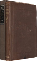 Books:Americana & American History, [James A. Garfield]. Richard Chenevix Trench. On the Study of Words. New York: Redfield, 1856....