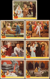"Yolanda and the Thief (MGM, 1945). Lobby Cards (7) (11"" X 14""). Musical. ... (Total: 7 Items)"
