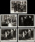 """Movie Posters:Horror, Son of Frankenstein (Universal, 1939). Photos (5) (8"""" X 10""""). Horror.. ... (Total: 5 Items)"""