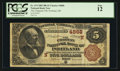 National Bank Notes:Maine, Portland, ME - $5 1882 Brown Back Fr. 474 The Chapman NB Ch. #(N)4868. ...