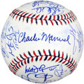 Autographs:Baseballs, 2010 National League All Star Team Signed Baseball.(32Signatures)...