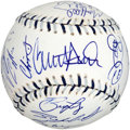 Autographs:Baseballs, 2008 National League All Stars Team Signed Baseball (23Signatures)....