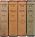 Books:World History, Winston S. Churchill. Marlborough. His Life andTimes. London: George Harrap, [1933-1938]. First editions. Four... (Total: 4 Items)
