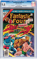 Modern Age (1980-Present):Superhero, Fantastic Four Annual #11 (Marvel, 1976) CGC NM/MT 9.8 Off-white towhite pages....